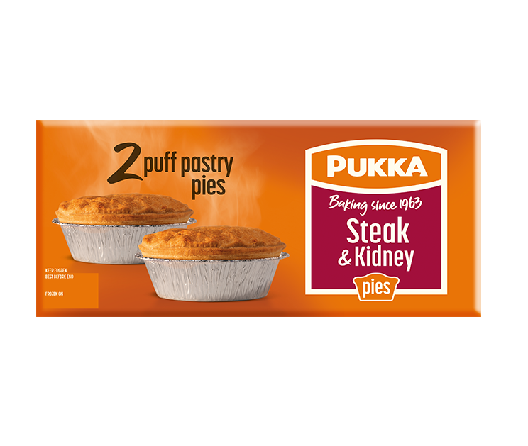 Minced Beef and Onion Pie | Pukka Pies