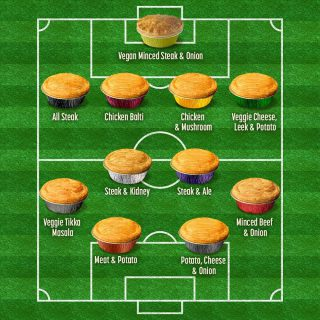 The ultimate Premier Pie League line-up for the big weekend.